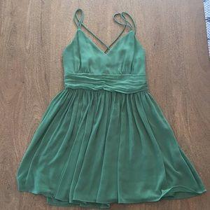 BB Dakota Green Mini Dress.
